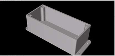 3D Model of Overspeed Monitor Enclosure